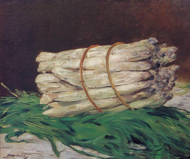 Edouard Manet. A bunch of asparagus