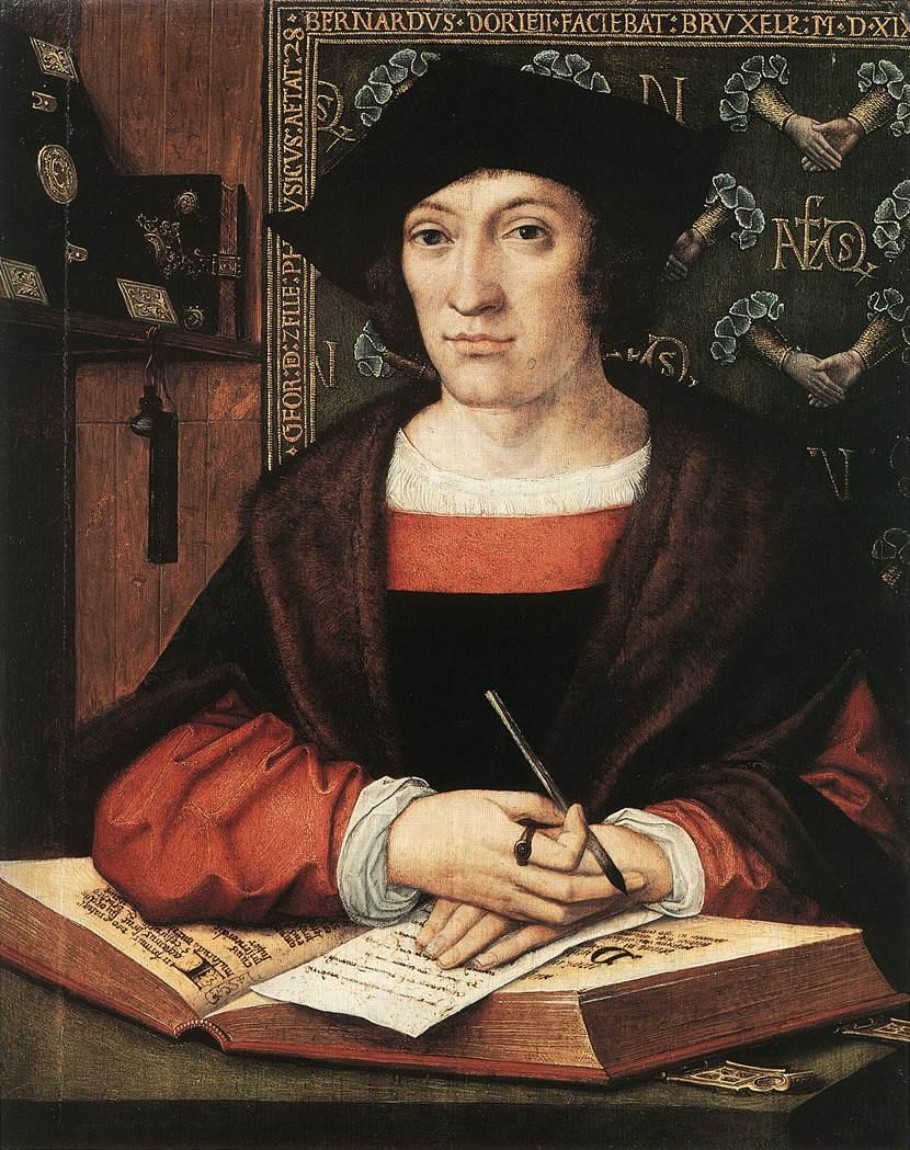 Bernart Van Orley. Portrait of Joris van Celle