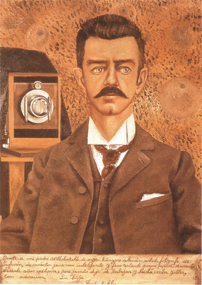Frida Kahlo. Portrait of my father
