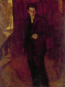 Ivan Ivanovich Zakharov. Self-portrait.
