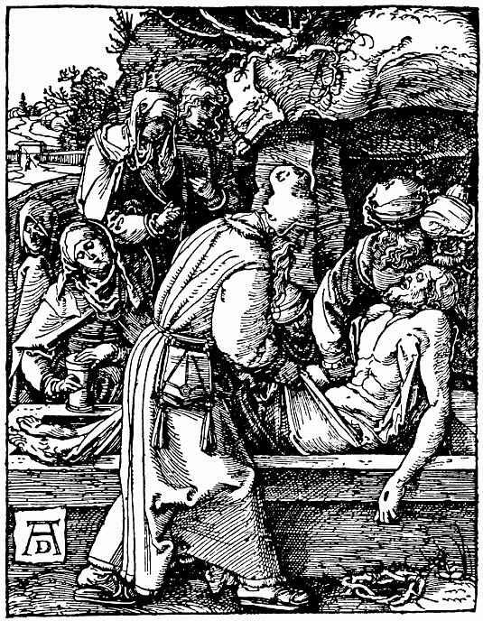 Альбрехт Дюрер. Положение во гроб