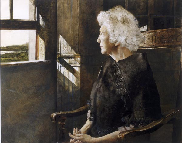 Andrew Wyeth. Portrait Of Henrietta