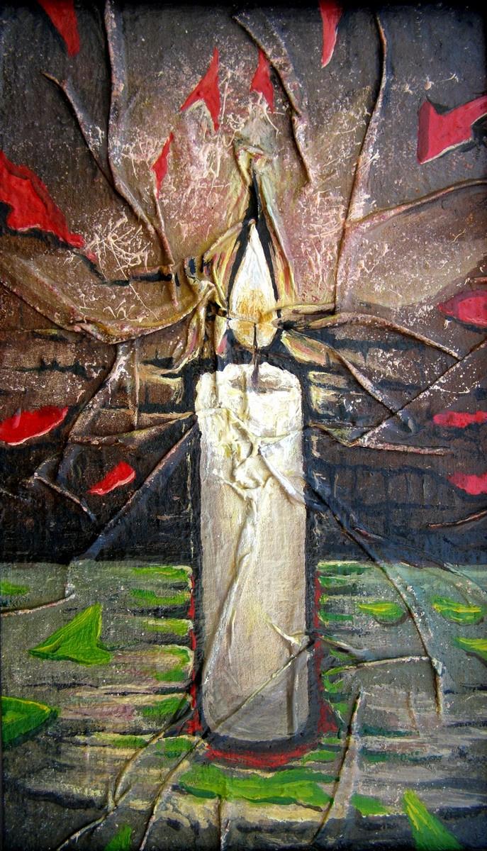 Yuri Vladimirovich Sizonenko. Candle and time space.
