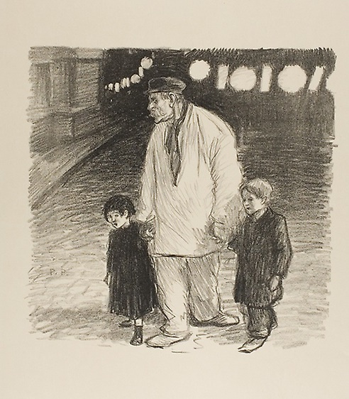 Theophile-Alexander Steinlen. Today is a national holiday