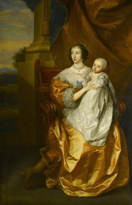 Anthony van Dyck. Henrietta Maria to Prince Charles