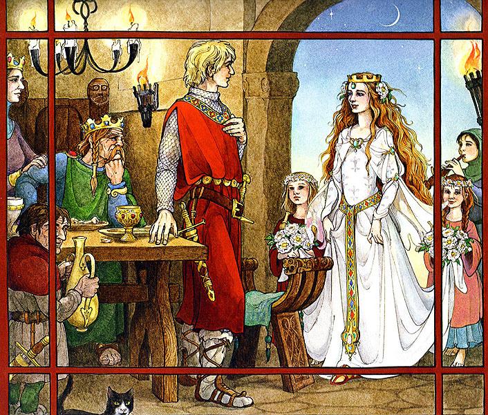 Трина Шарт Хайман. Святой Георгий и дракон 12