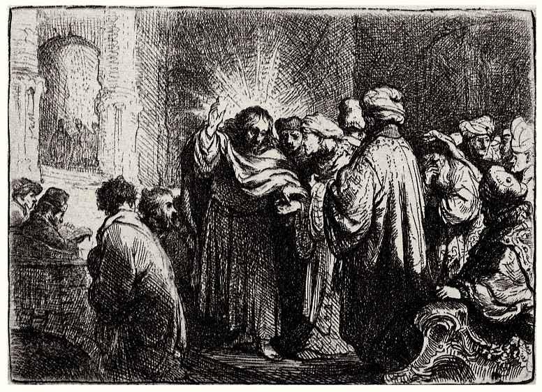 Рембрандт Харменс ван Рейн. Динарий кесаря