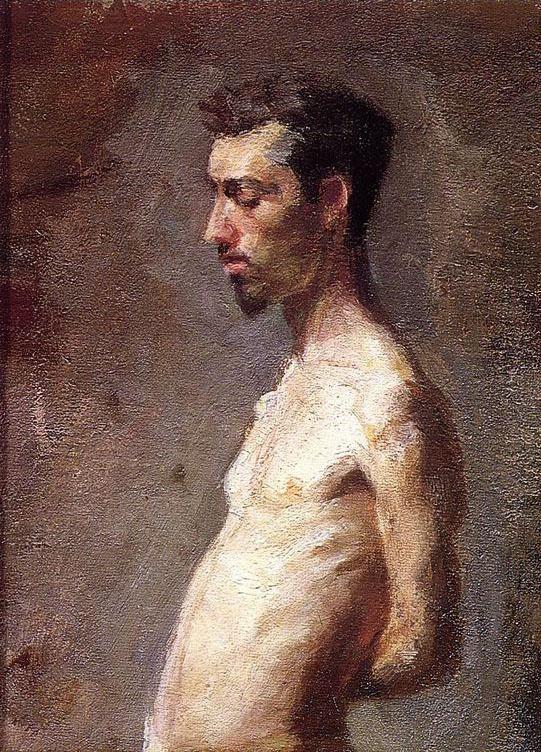 Thomas Eakins. Portrait Of Laurie Wallace