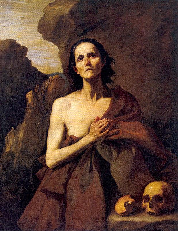 Хосе де Рибера. Мария Египетская