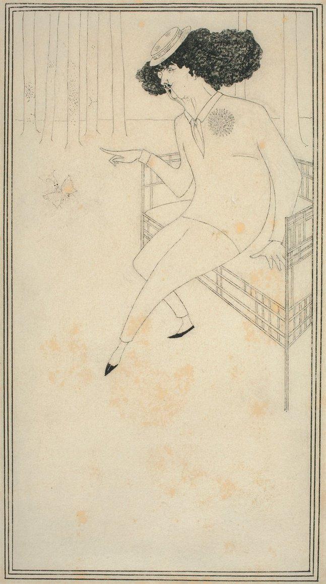 Aubrey Beardsley. James Whistler