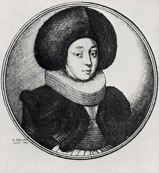 Венцель Холлар. Горожанка из Страсбурга