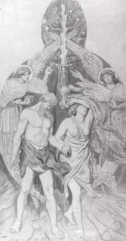 Ford Madox Brown. The expulsion from Paradise