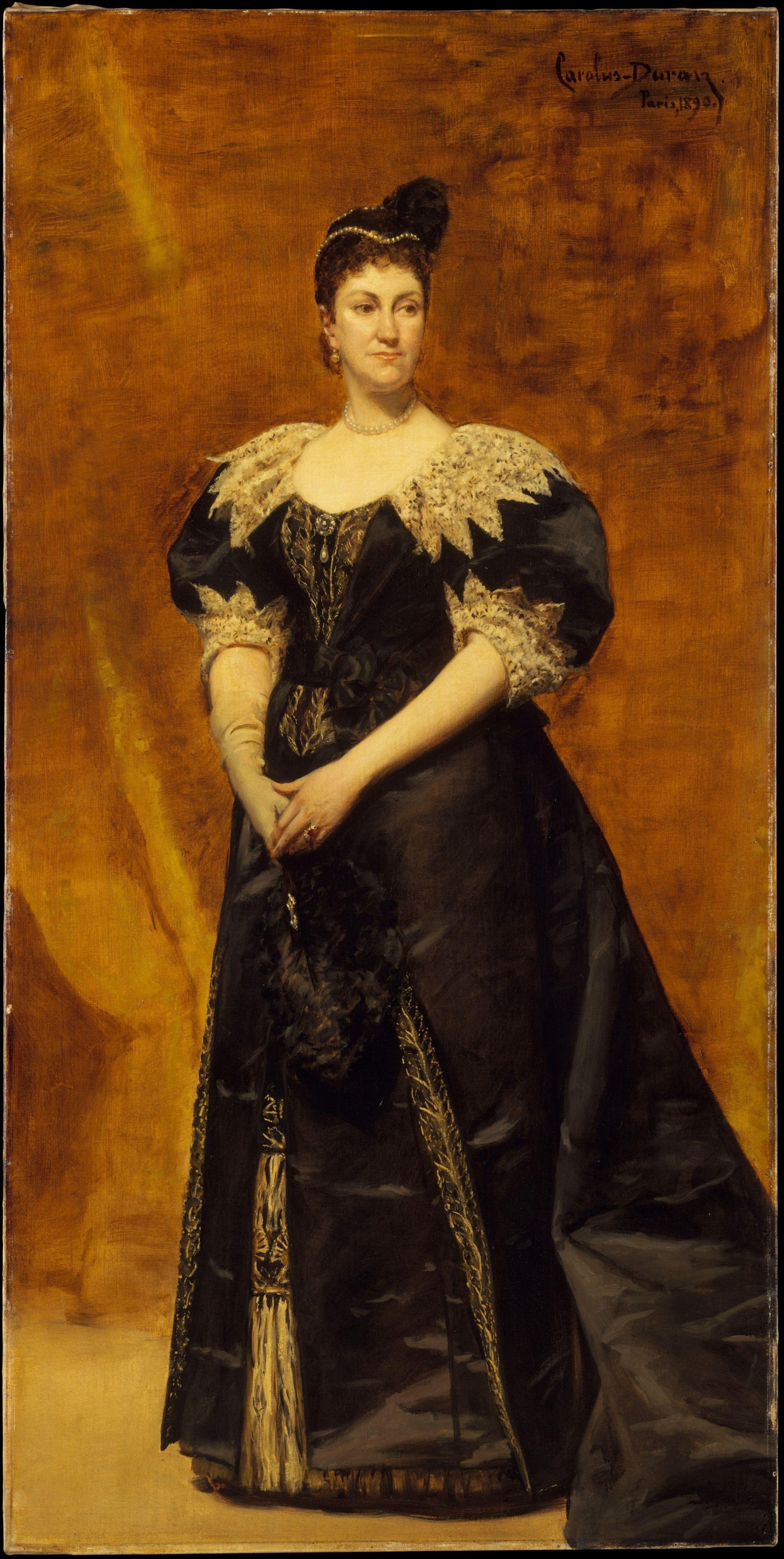 Carolus-Durand. Mrs. William Astor