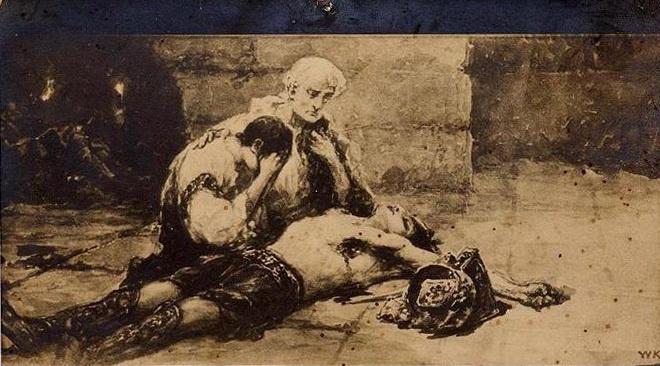Вильгельм Александрович Котарбинский. Над убитым гладиатором