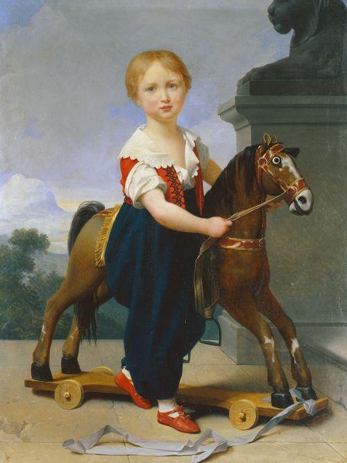 Жан Батист Реньо. Портрет Василия Репнина в детстве