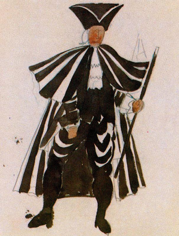 Ю. Пуджиес. Мужчина в черном