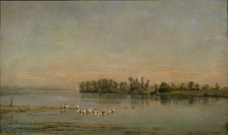Шарль-Франсуа Добиньи. Утро
