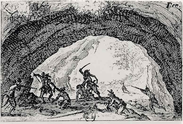 Жак Калло. Пещера разбойников