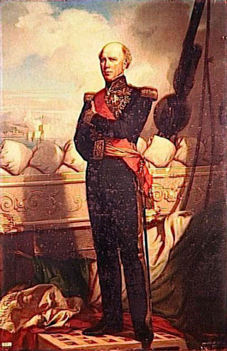 Чарльз Захари Ланделл. Адмирал