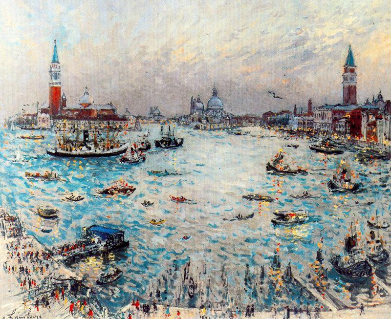 Андре Хамбоург. Лодки на воде