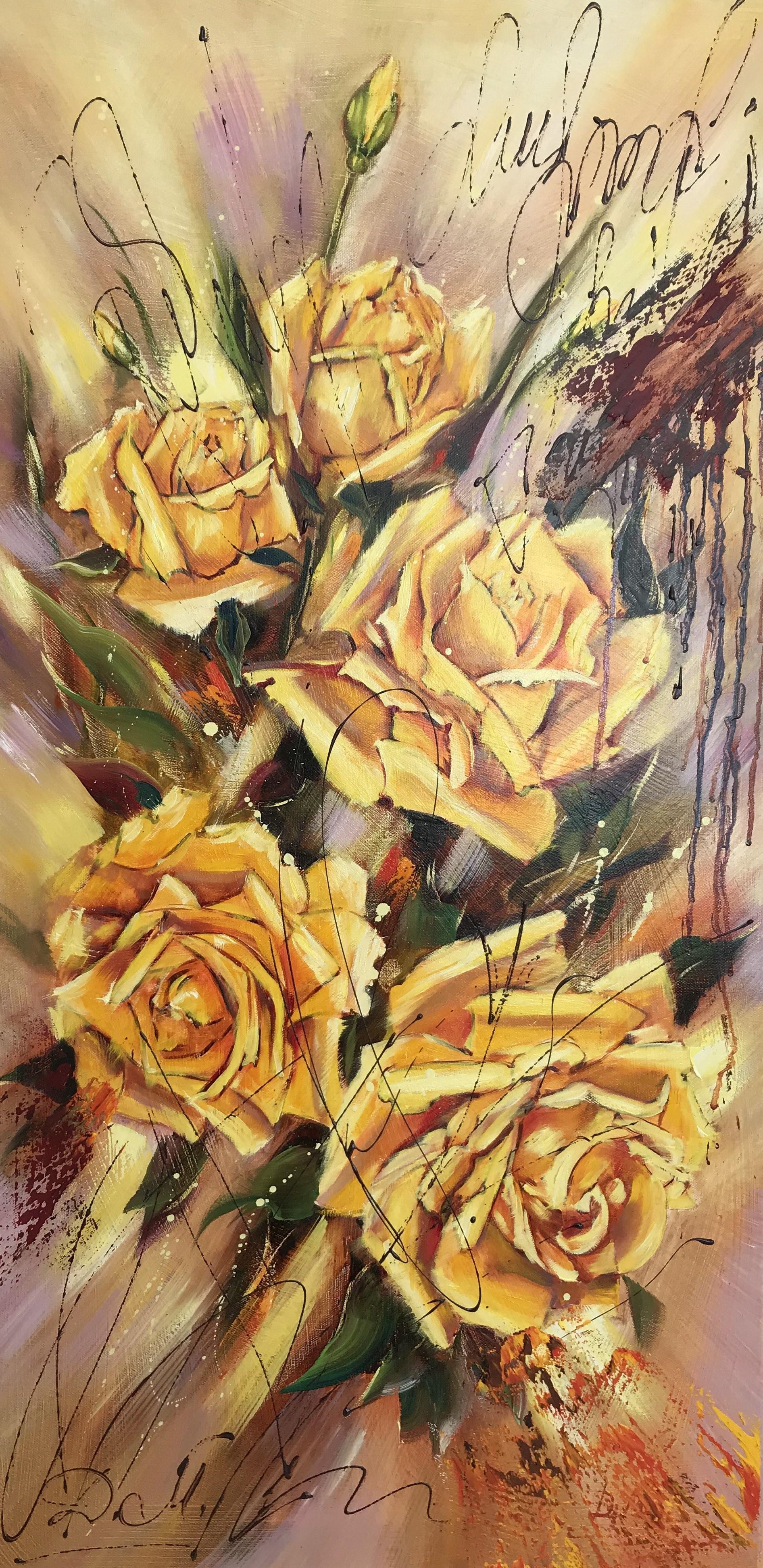 Диана Владимировна Маливани. Yellow Roses
