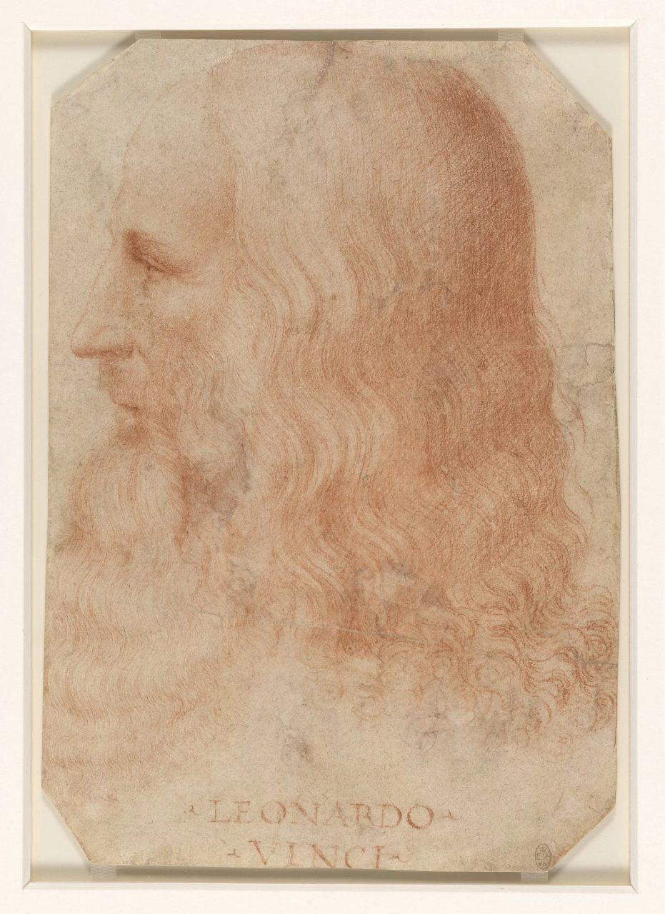 Francesco Melzi. A portrait of Leonardo