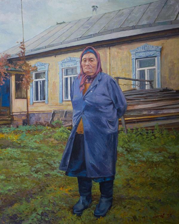 Василий Даниелович Ишоев. Хозяйка деревни Яковлево