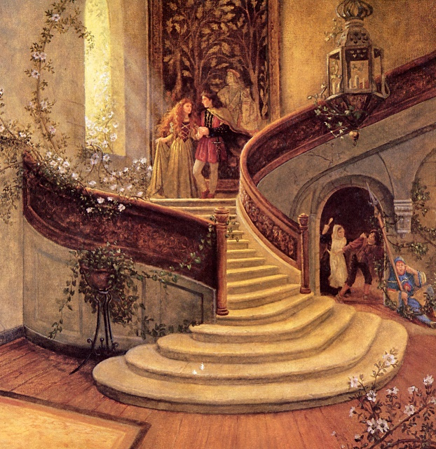 Рут Сандерсон. Лестница