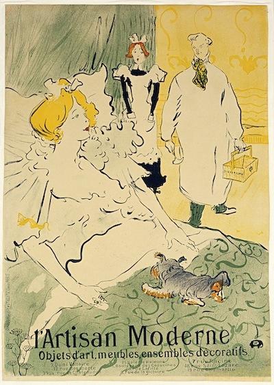 Анри де Тулуз-Лотрек. Современный художник (плакат)