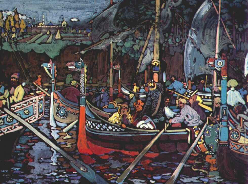 Wassily Kandinsky. Song Of The Volga