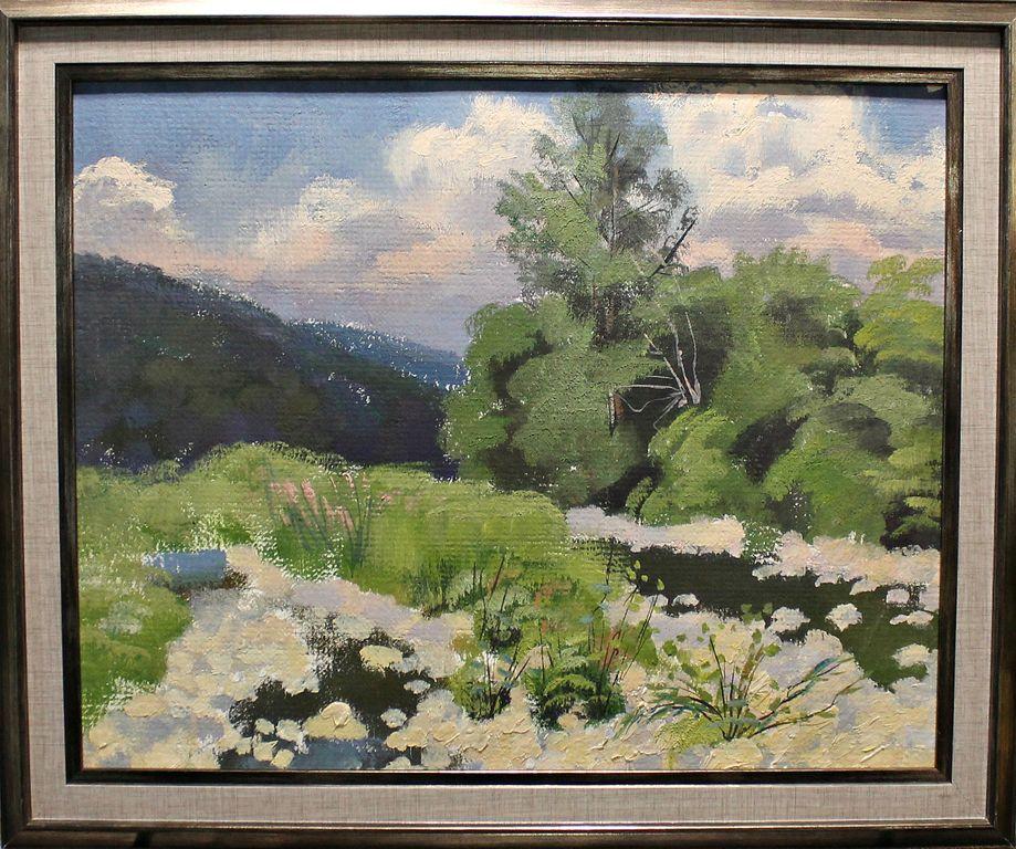 Alexander Aleksandrovich Akimov. Mountain landscape