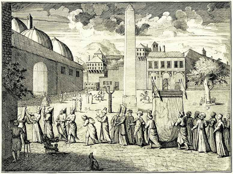 Уильям Хогарт. Процессия на ипподроме в Константинополе
