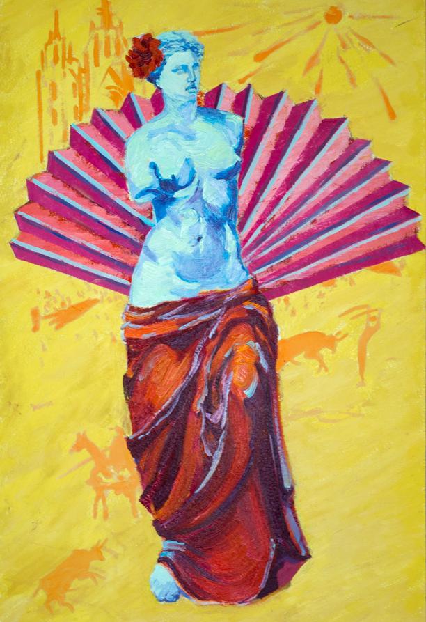 Anna Valerievna Dolganova. Classics of Venus in the image of Spanish passion