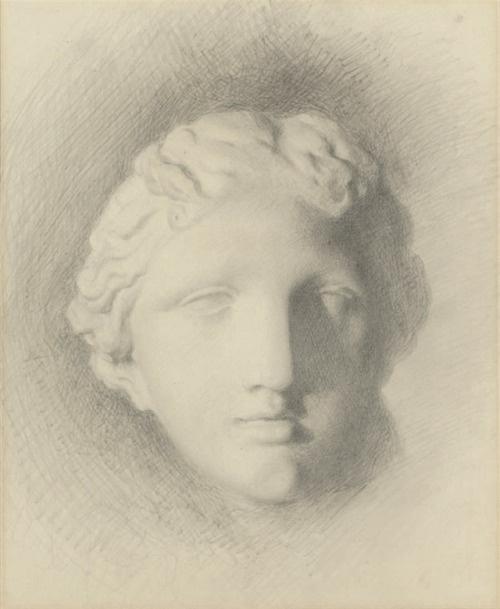 """Джон Рёскин. Голова статуи """"Венера Медичи"""""""
