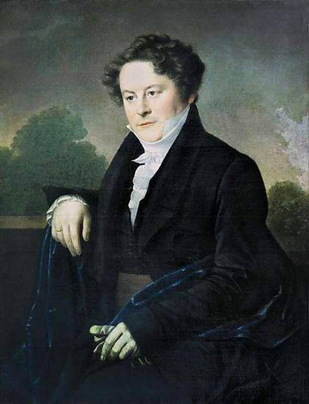 Орест Адамович Кипренский. Мужской портрет