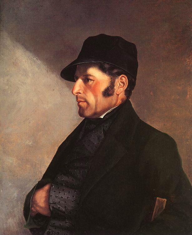 Гюстав Курбе. Портрет отца художника