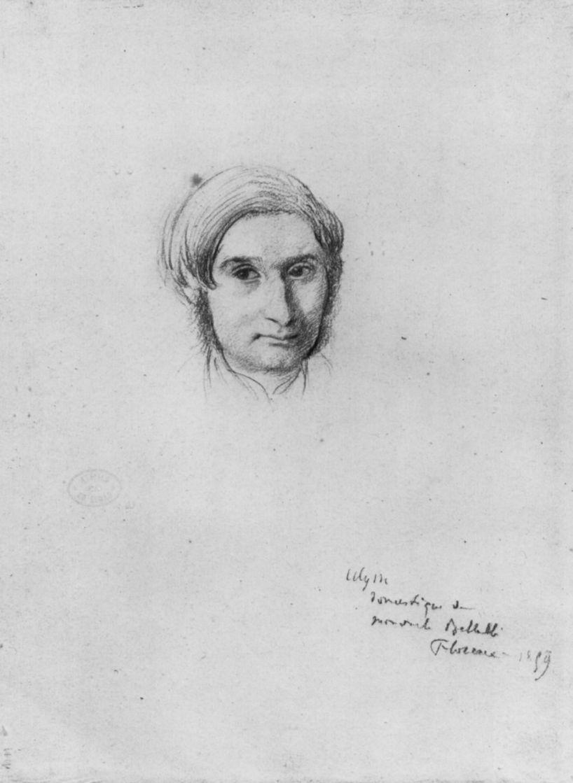 Edgar Degas. Portrait Of Ulysses