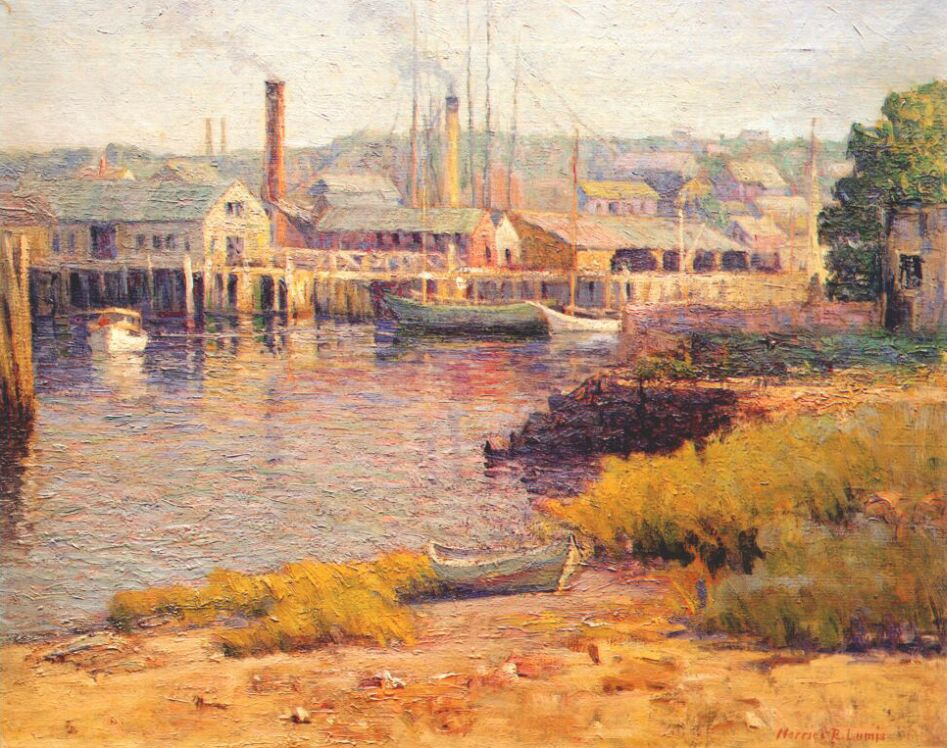 Loomis. Morning in the Harbor