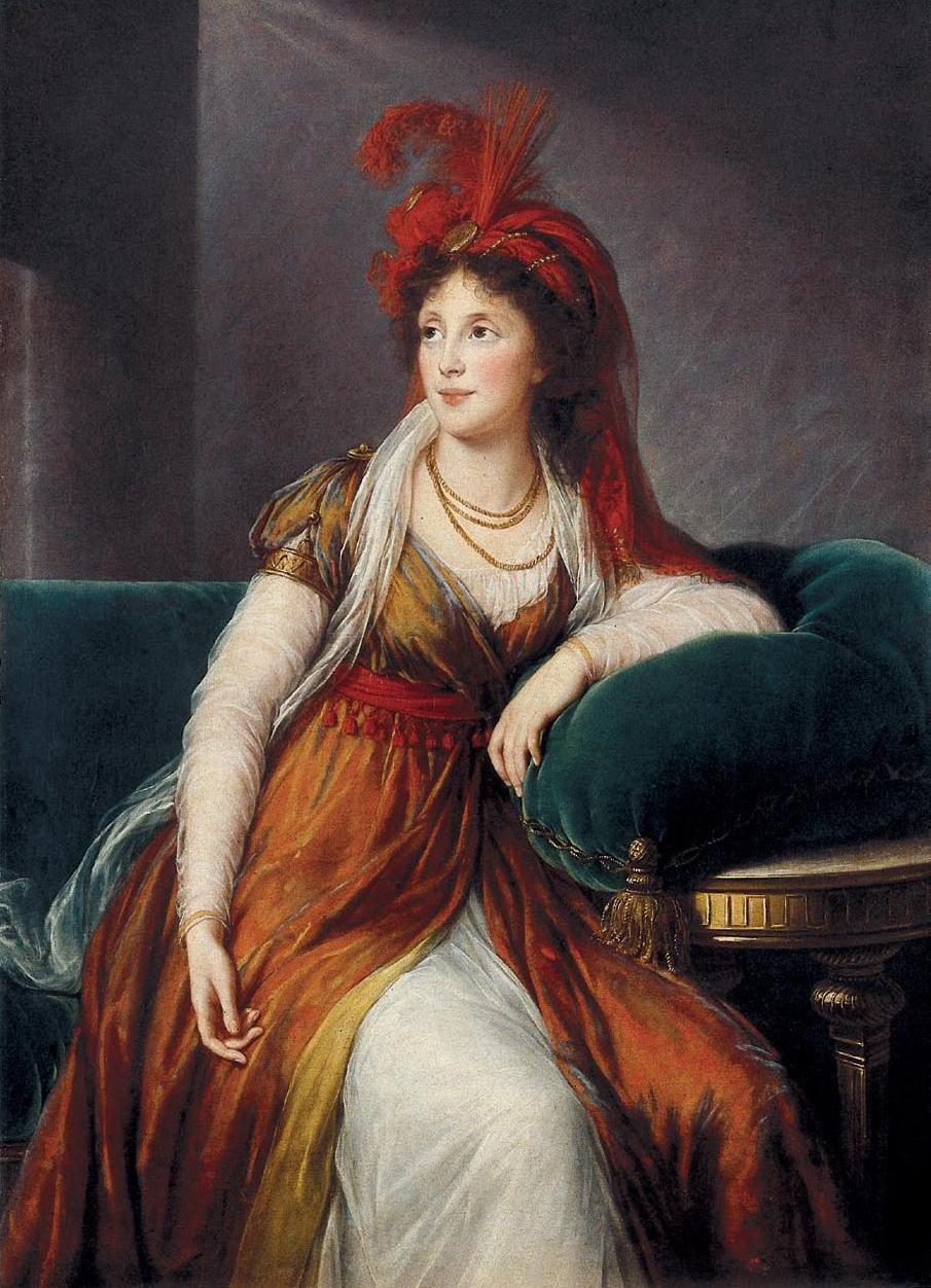 Elizabeth Vigee Le Brun. Portrait of Princess Anna Alexandrovna Golitsyna