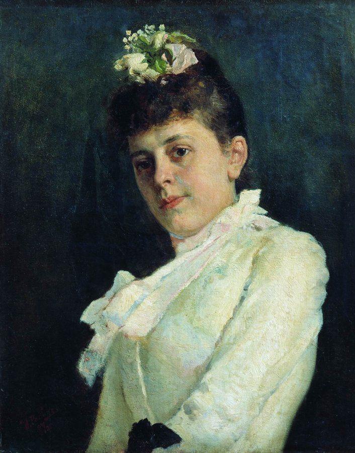 Ilya Efimovich Repin. Female portrait