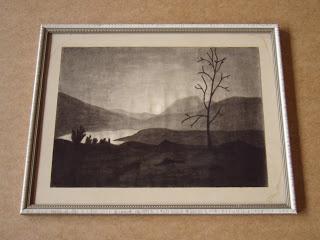 Unknown artist. Mountain landscape.