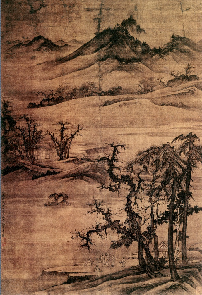 Тан Ди. Пейзаж 091