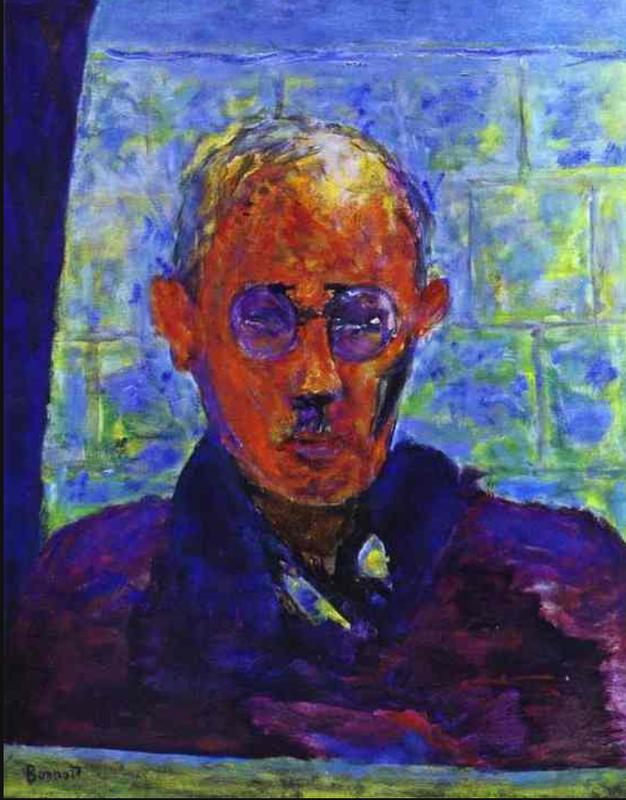 Pierre Bonnard. Self-portrait