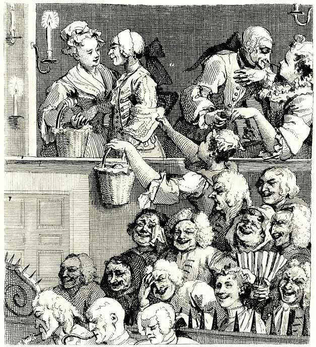 Уильям Хогарт. Смеющаяся публика