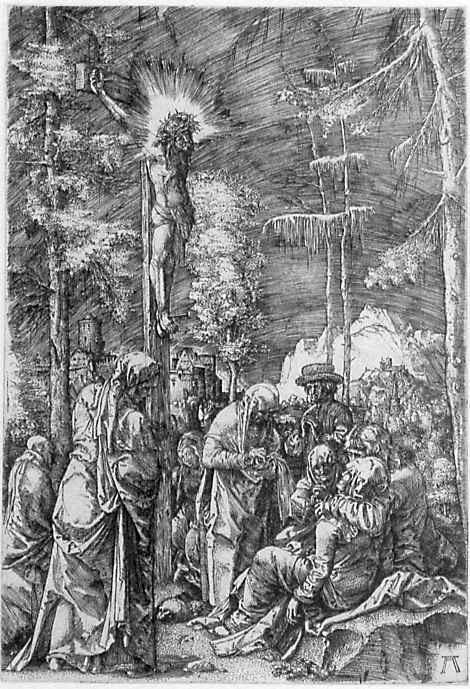 Альбрехт Альтдорфер. Христос на кресте