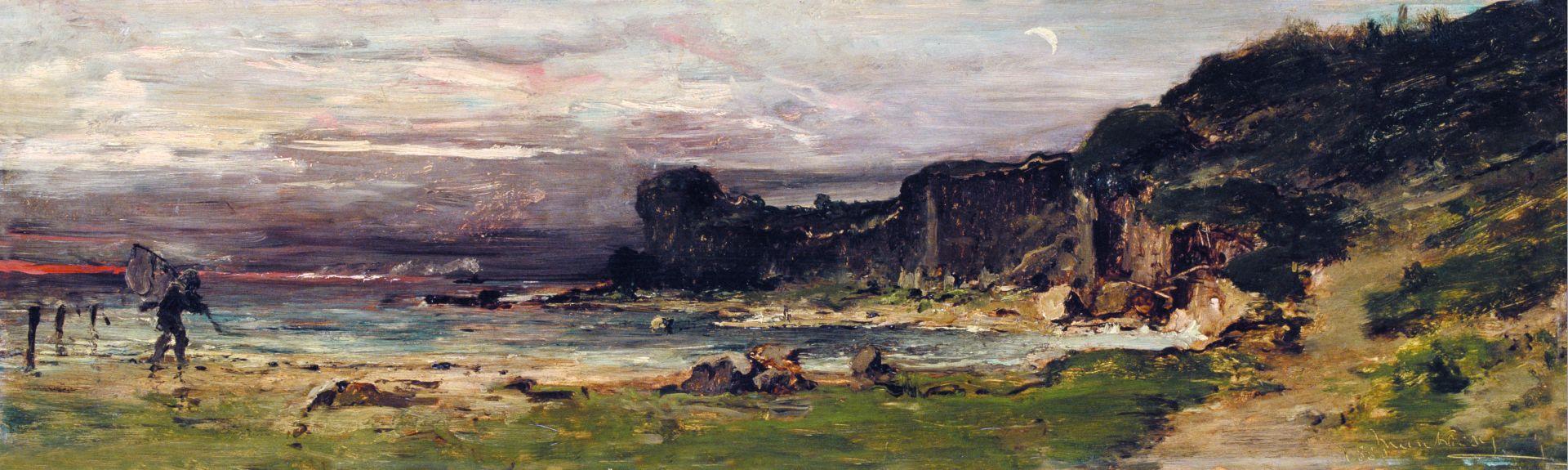 Михай Либ Мункачи. Морское побережье в Нормандии