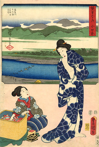 Хиросигэ Кунисада. Убранства