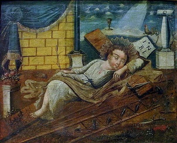 Украинский Иконописец XVIII века. Христос - Недремне око