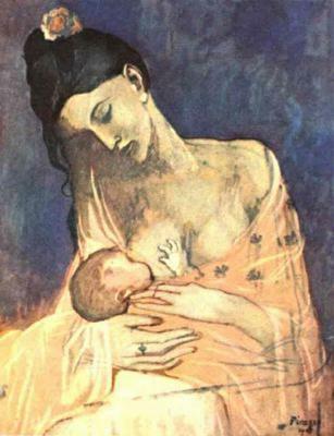 Пабло Пикассо. Кормящая мать