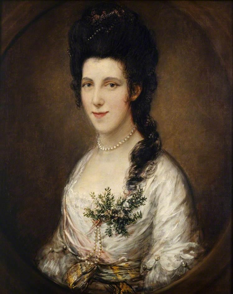 Томас Гейнсборо. Портрет женщины (возможно, леди Иден)